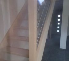 escalier pose