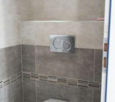 Toilette RDC termine