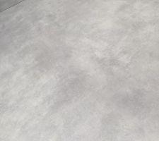 Carrelage cachemire gris clair choisi chez CMA (chavigny) à Saint Pierre des corps