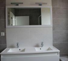 salle de bains de l etage installation sanitaires et meubles mirroir et meuble