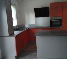 Voici notre cuisine terminé!!!!!!!!! :-)