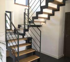 photos et id es escalier m tal 1 003 photos. Black Bedroom Furniture Sets. Home Design Ideas