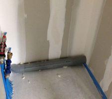 Évacuation WC étage