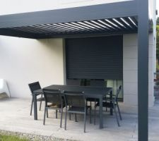 pergola bioclimatique solisysteme de chez passion et design