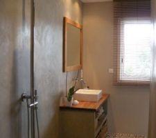 Idée décoration salle d'eau parentale