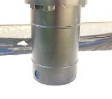 le chassis du spot qui ne rentre pas dans le tuyau pvc