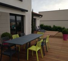 terrasse amenagee