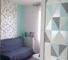 Photos et id es chambre d 39 adultes mur papier peint 464 for Tendance papier peint pour chambre adulte
