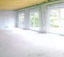 Panorama de l'intérieur de la maison