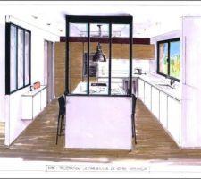 Encore une nouvelle version des plans de cuisine version 3