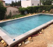piscine en eau