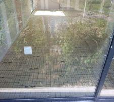 Isolation du sol avant la pose du plancher chauffant