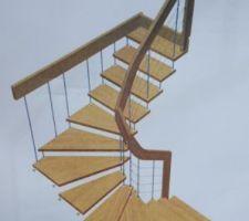 escalier rdc a r 1