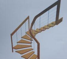 escalier r 1 a r 2