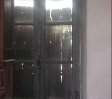Fenêtre actuelle de la future chambre d'ami