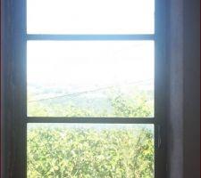Fenêtre actuelle de la future chambre parentale