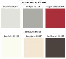 couleurs definitives des peintures