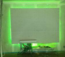 Placo led tv