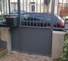 nouveau portail et nouvelle grille