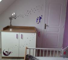 Chambre futur bébé fille finie