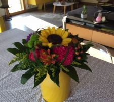 un bouquet pour mon anniversaire