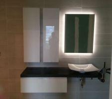 meuble salle de bain fait