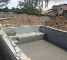 piscine maconnerie