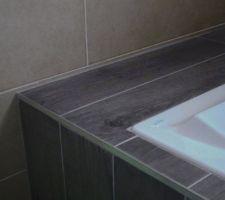 Détail tableau de la baignoire N°2