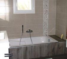 Nouvelle version de la salle de bain et baignoire N°2