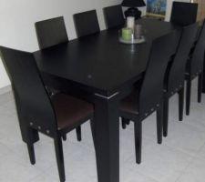 7 aout : achat de la table   chaises
