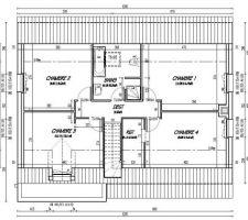 plan etage gaia
