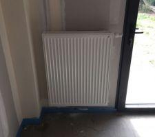 radiateur chambre rdc