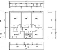 plans interieurs etage