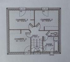 plan de l etage modifie