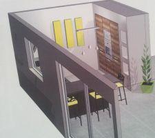 vue 3d notre future cuisine ouverte cuisinella