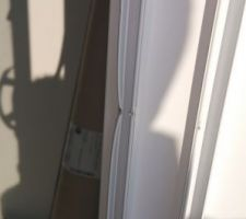 baie vitree degradee