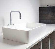 Vasque de notre salle de bains