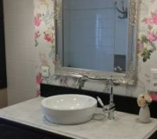 miroir meuble vasque diy