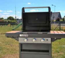 Barbecue Campingaz series 3 woody ld. La Classe !!!