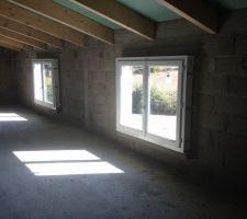 Pose des ouvertures - Fenêtres combles 140