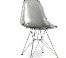 Idée déco : chaise avec pieds métal pour salle à manger.