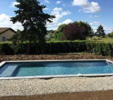 piscine pour profiter du soleil
