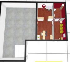 Plan général du sous-sol