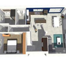 petite maison moderne avec comble amenageable