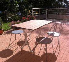 table de terrasse apres