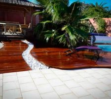 renovation amelioration de notre maison terrasse bois de 70m2 garage amenage jardin