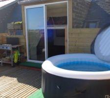 spa sur toit terrasse