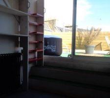 La vue depuis la chambre spa sur toit terrasse