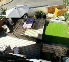 la terrasse coulissante fermee