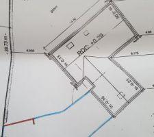plan muret pour la barriere et bordures voirie